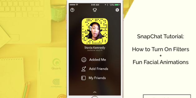 SnapChat Tutorial How to Turn on Snapchat Filters Fun Facial Animations