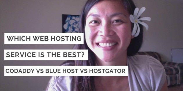 Which web hosting service is the best godaddy blue host hostgator