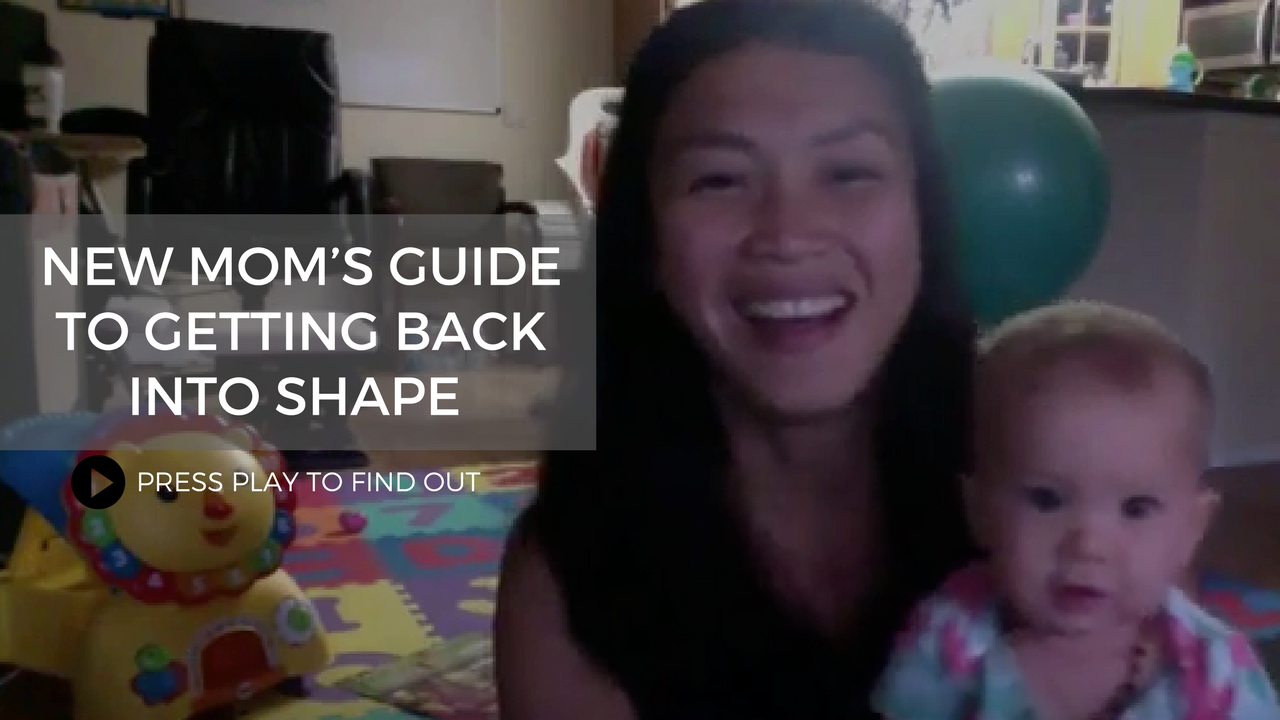 New Mom's Guide to Getting Back into Shape